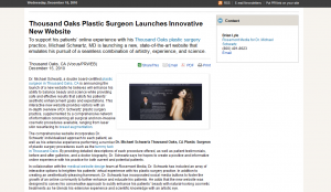Thousand Oaks, CA plastic surgery in the news