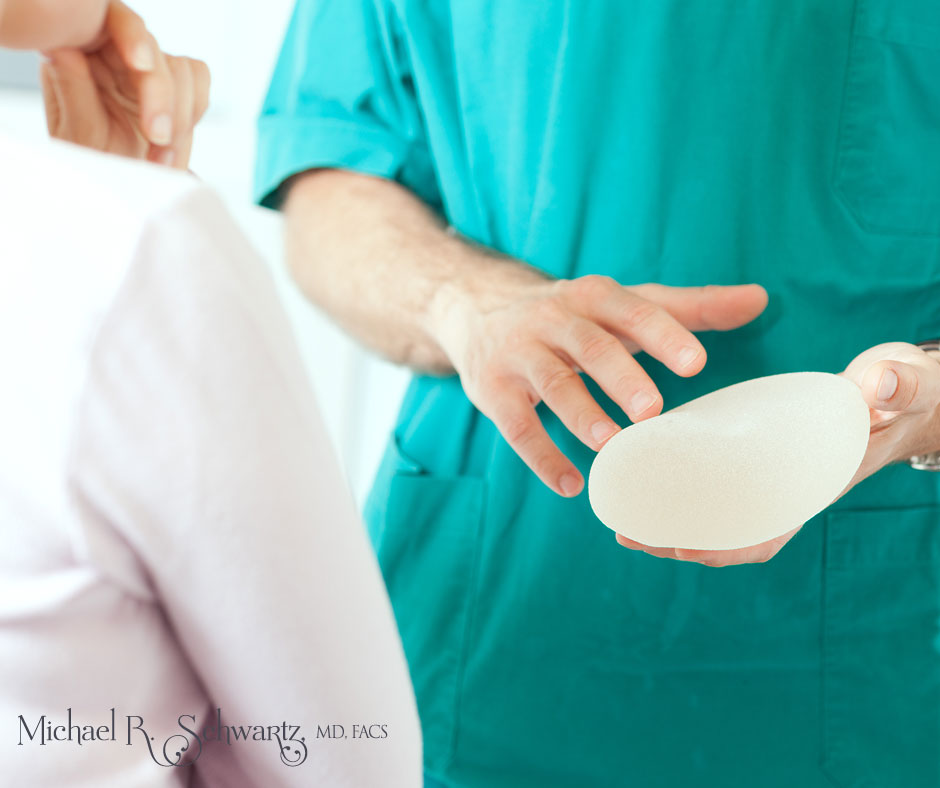types of breast implants often recommended